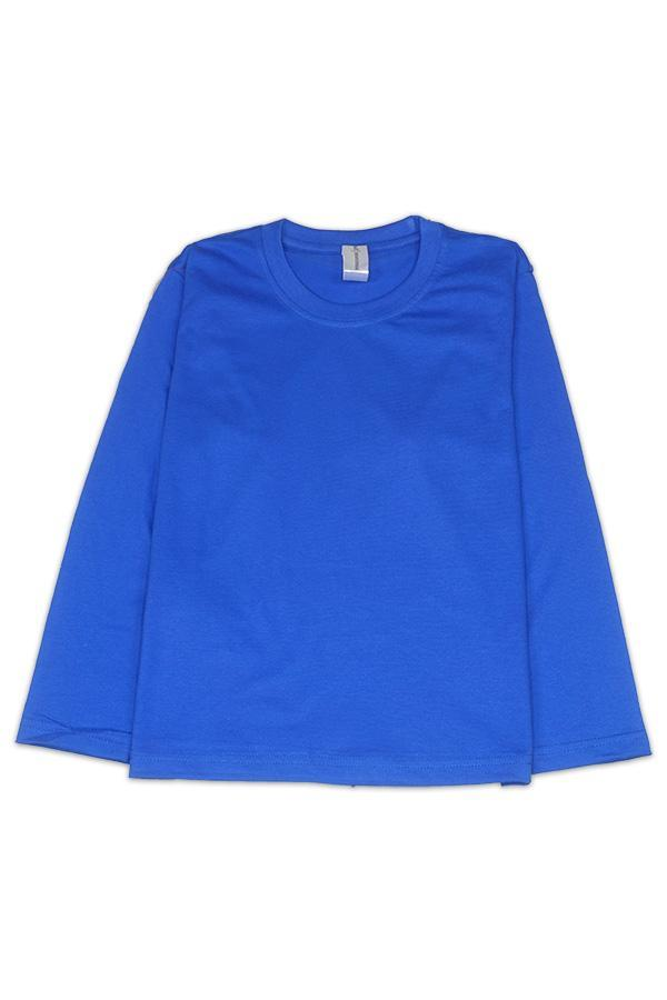 MD Kids Fullycombed Long Sleeve - Royal Blue